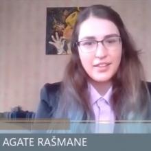 VIDEO: OLIMPIETE, LSPA STUDENTE AGATE RAŠMANE STĀSTA PAR STUDIJU APVIENOŠANU AR SPORTU