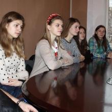 """LSPA STUDIJAS SĀK """"ERASMUS+"""" ĀRVALSTU STUDENTI NO UKRAINAS UN BALTKRIEVIJAS"""