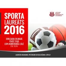 LSPA GADA SPORTA LAUREĀTS  2016